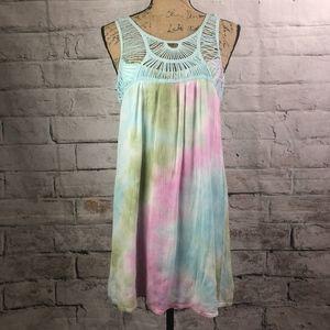 Entro Tie Dye Shift Dress